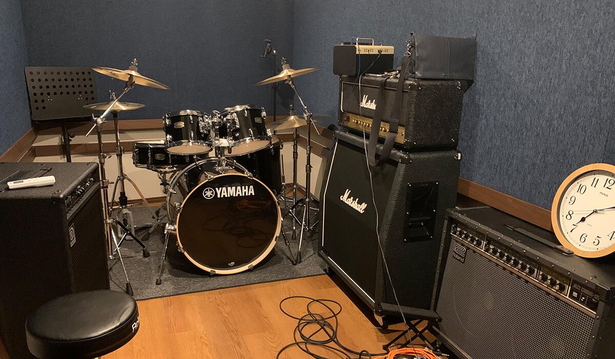 福岡市の音楽スタジオ「クロスタ」画像