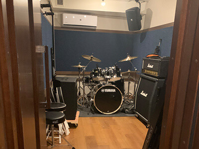 防音・音楽スタジオ「クロスタ」(福岡市)の内装画像